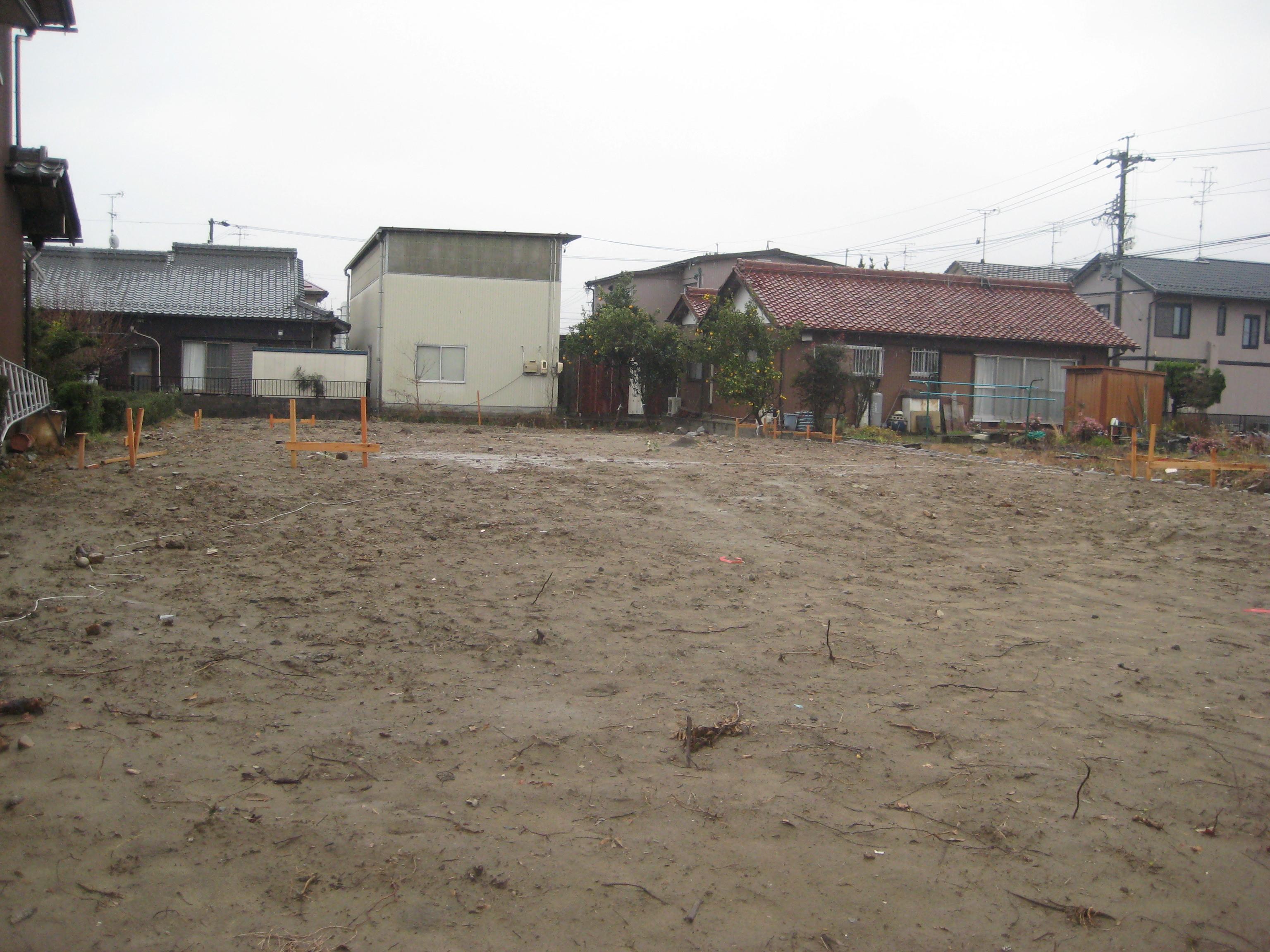 岐阜県羽島市「回光の家」木造住宅 配置確認