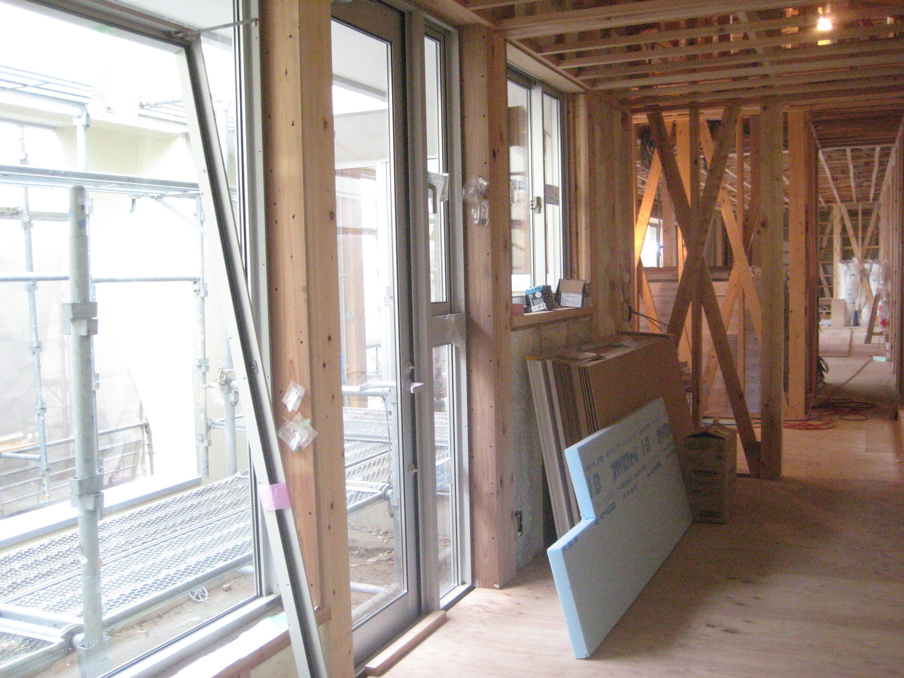 愛知県西尾市「白珪の家」木造+鉄骨造