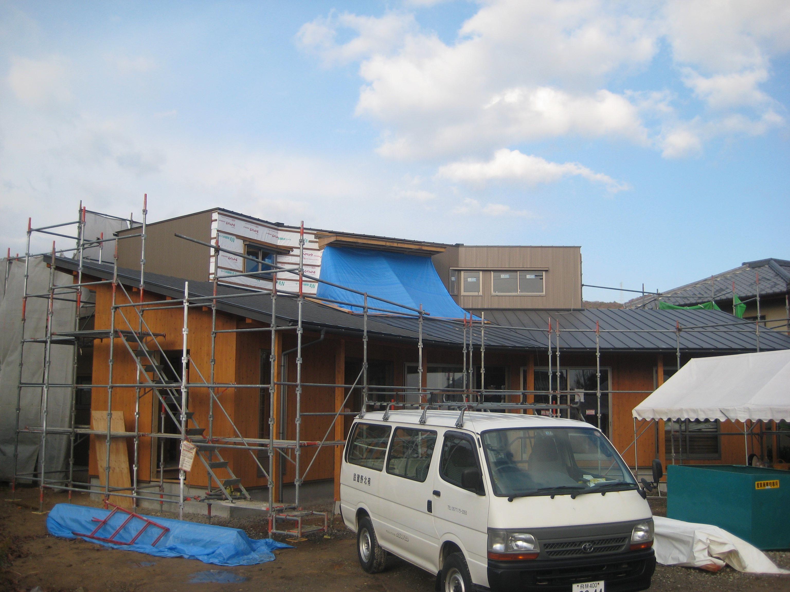 岐阜県各務原市「緑苑の家」木造住宅 外観