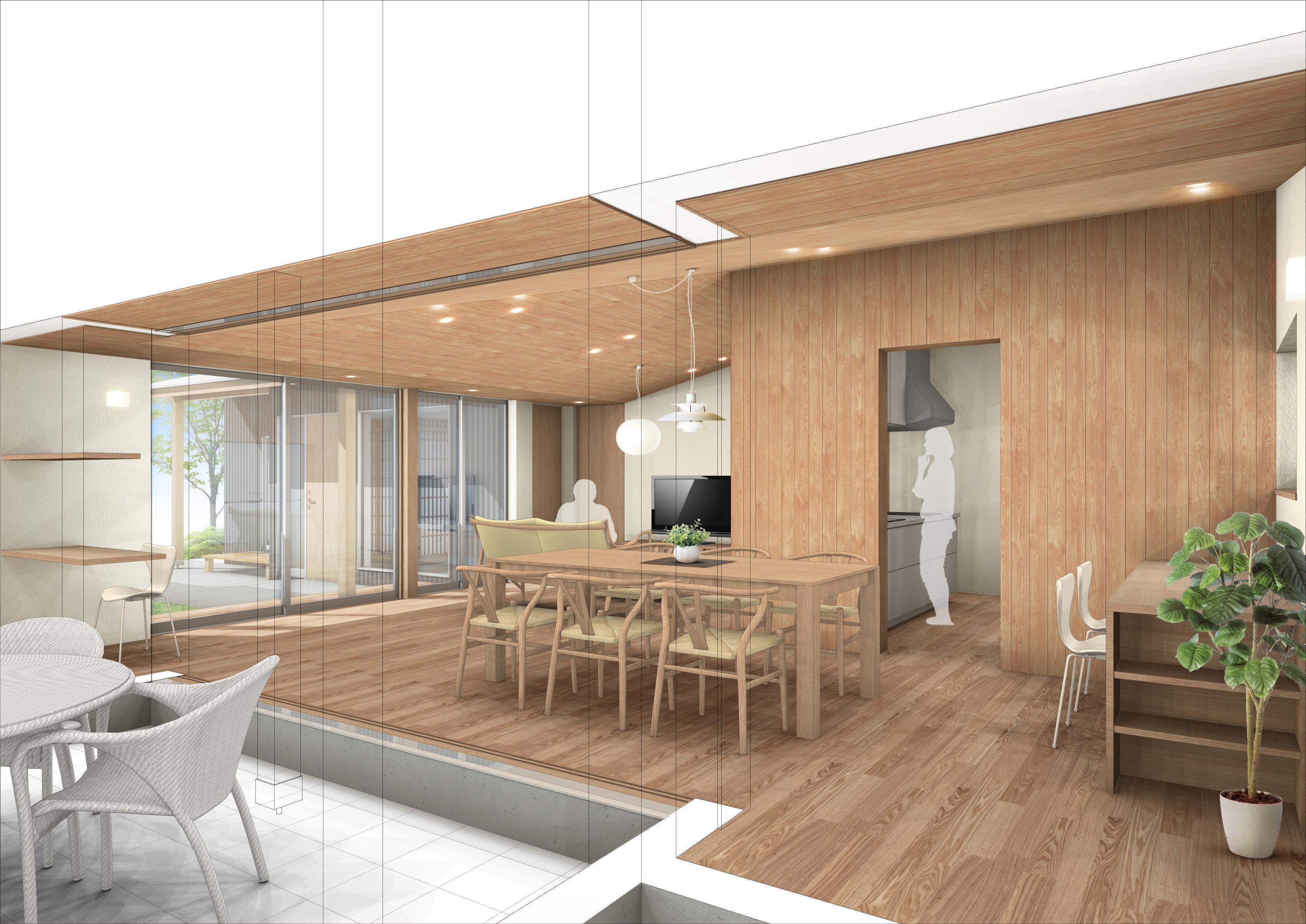 愛知県犬山市「古券の家」木造住宅 見積り