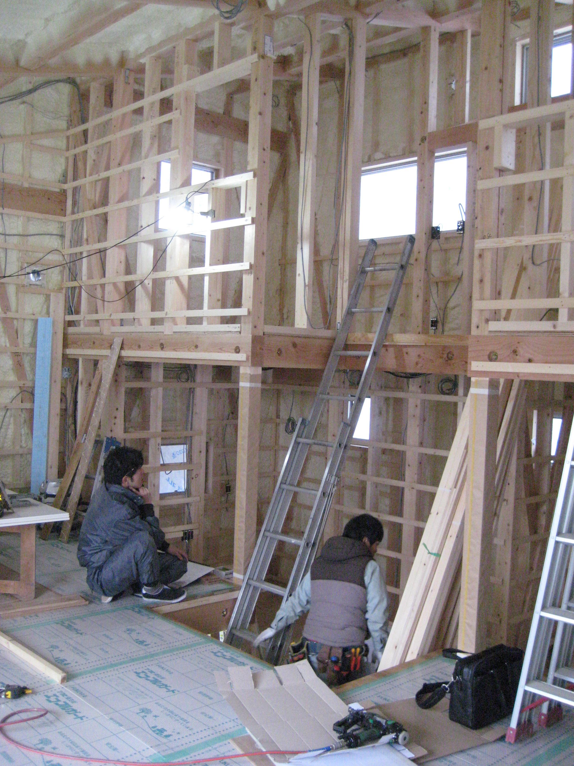 愛知県東海市「荒尾の家」木造住宅  現場