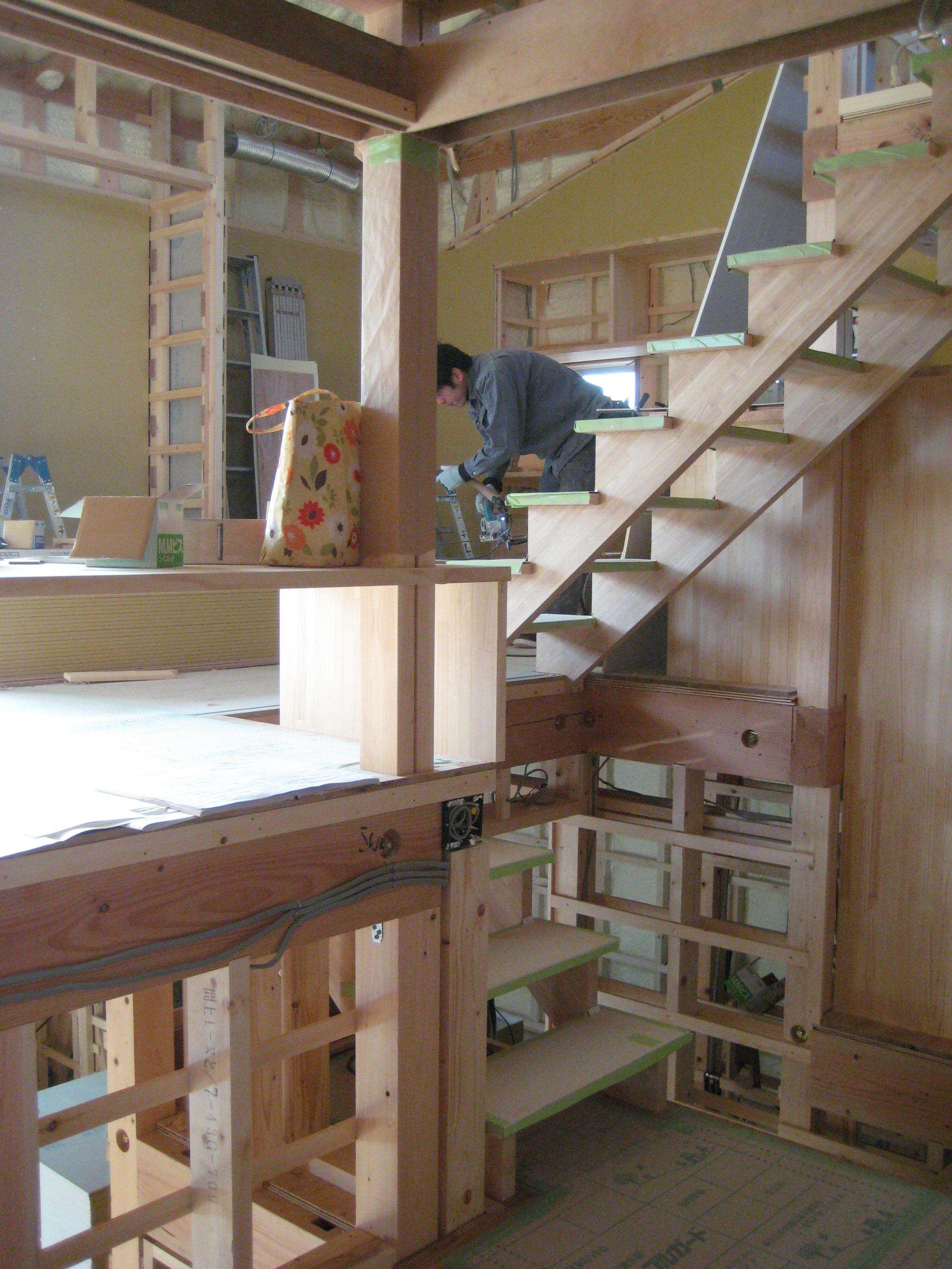 愛知県東海市「荒尾の家」木造住宅 スキップフロアー