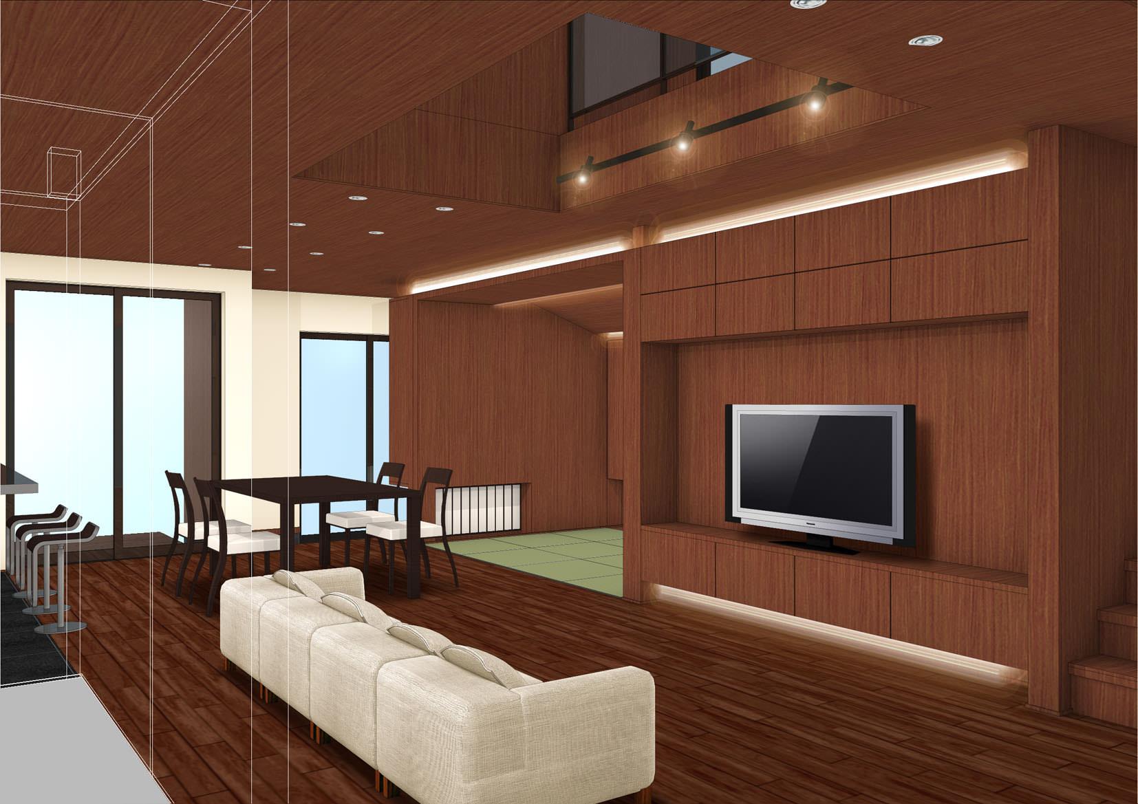 愛知県北名古屋市「月桂の家」木造 雑誌の取材