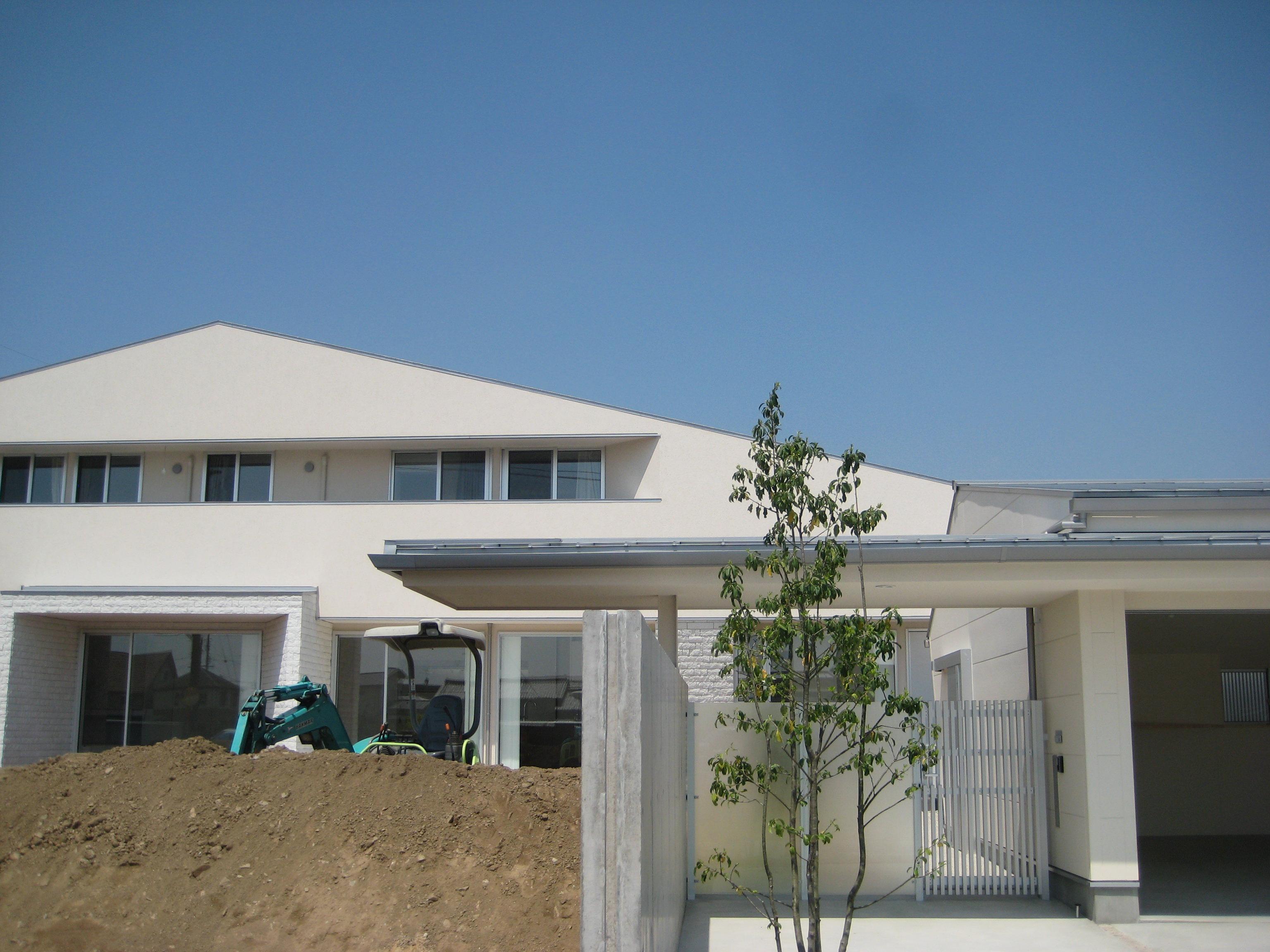 愛知県西尾市「白珪の家」木造+鉄骨造 お引渡し