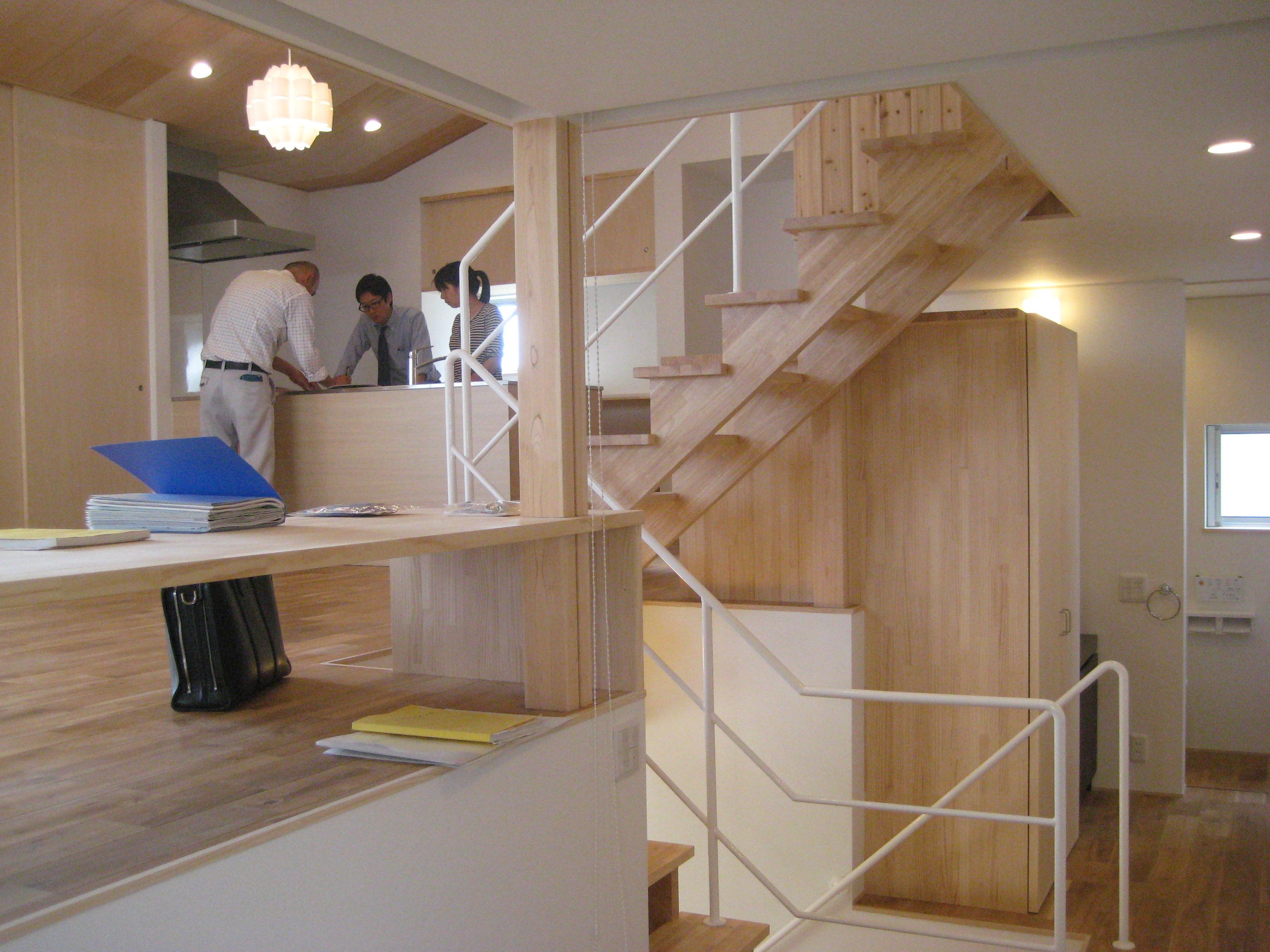 愛知県東海市「荒尾の家」木造住宅 スキップフロアー お引渡し