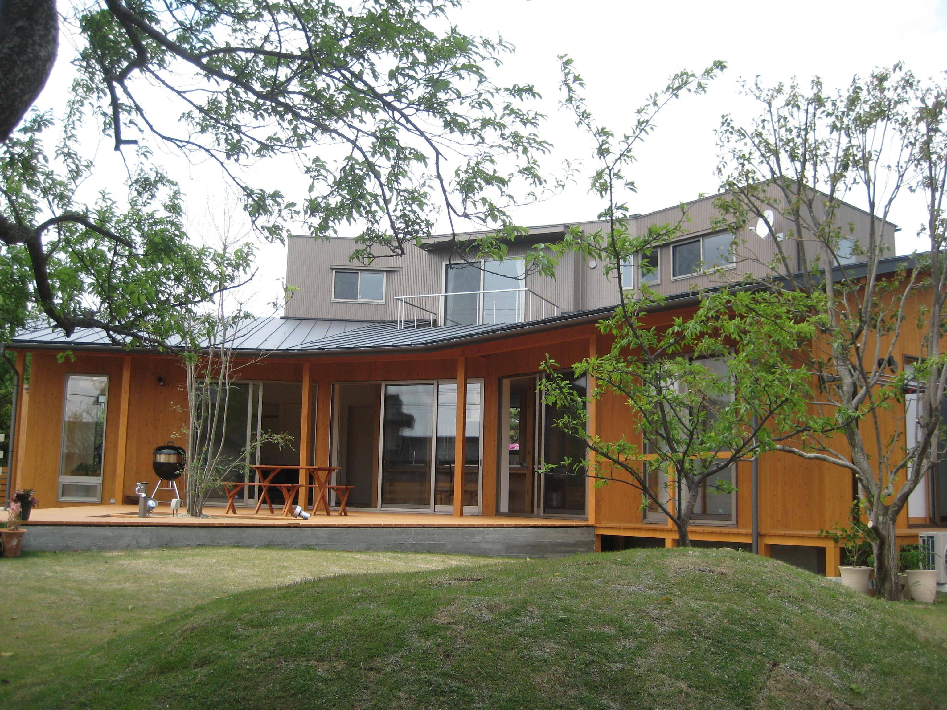 岐阜県各務原市「緑苑の家」木造住宅 撮影