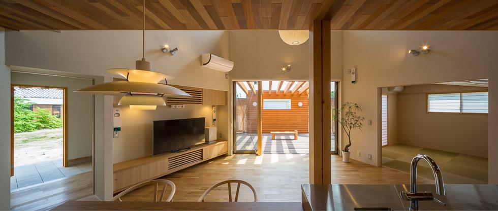 愛知県稲沢市祖父江「開花の家」木造住宅 竣工写真2