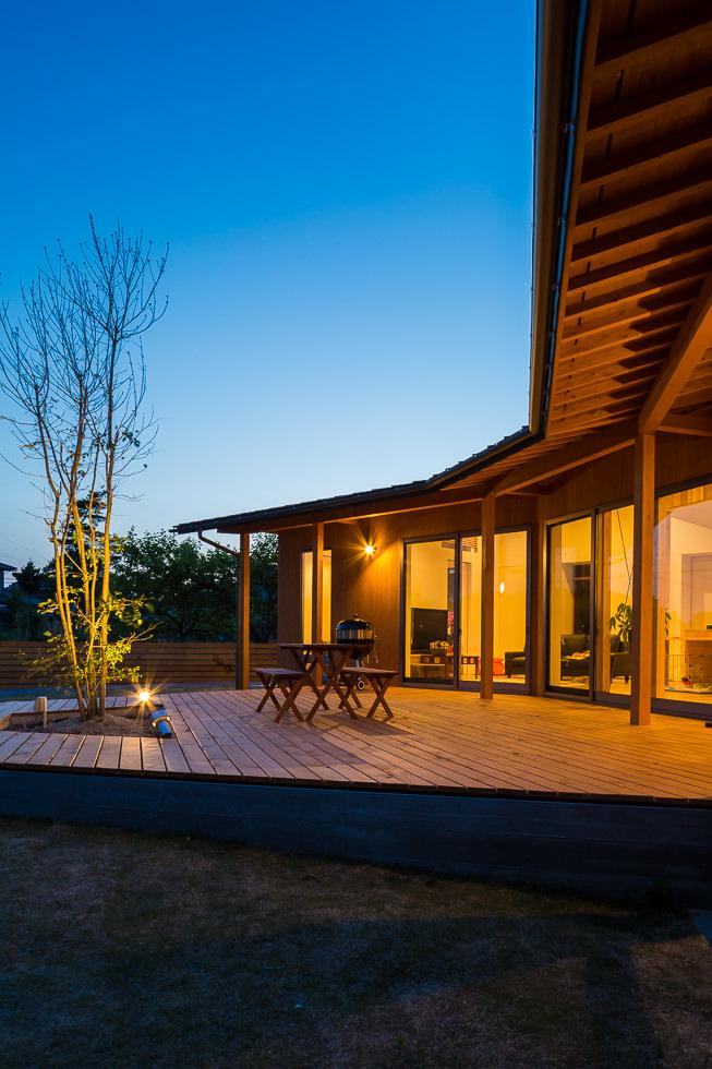 岐阜県各務原市「緑苑の家」木造住宅 グッドデザイン賞 一次審査通過