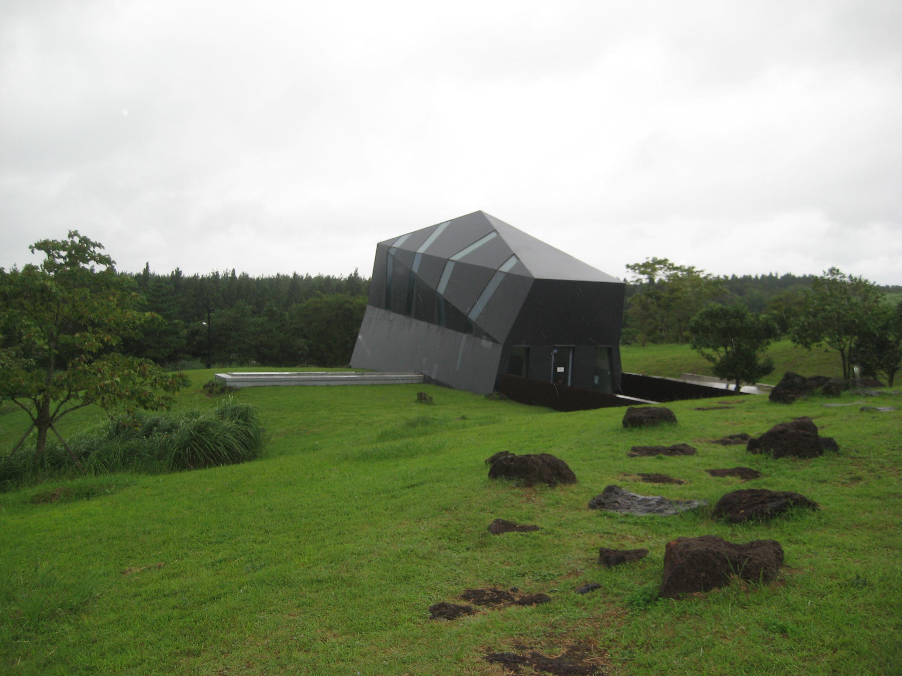済州島 建築視察6 二つの手の美術館