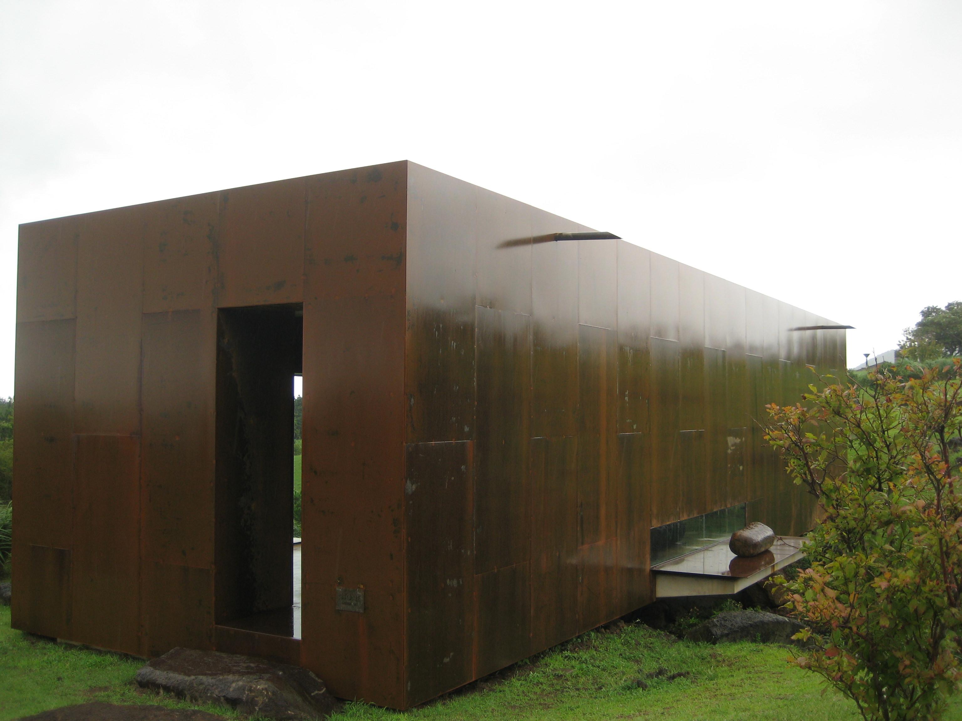 済州島 建築視察4 石の美術館