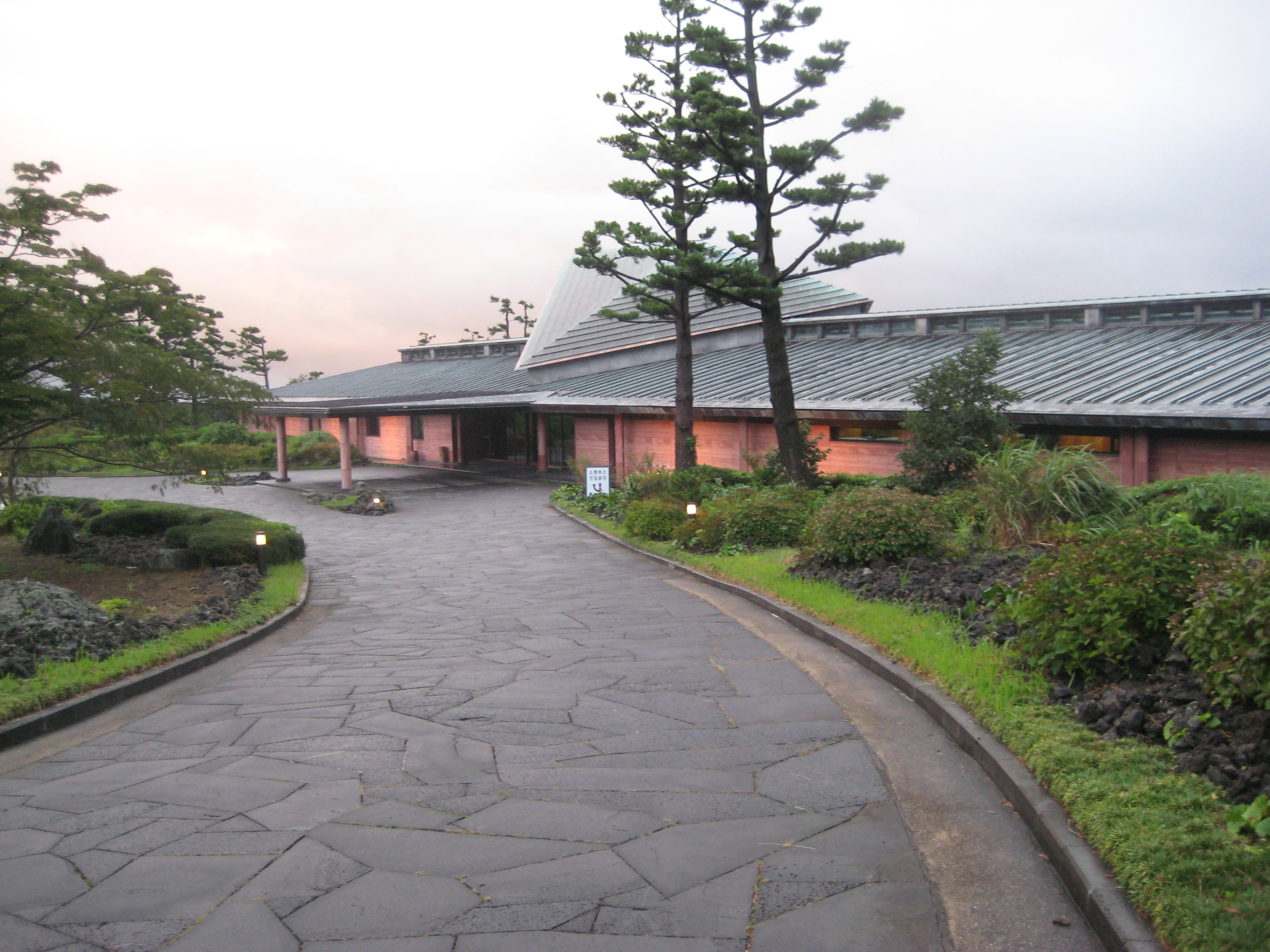 済州島 建築視察8 PINXメンバーズゴルフクラブ