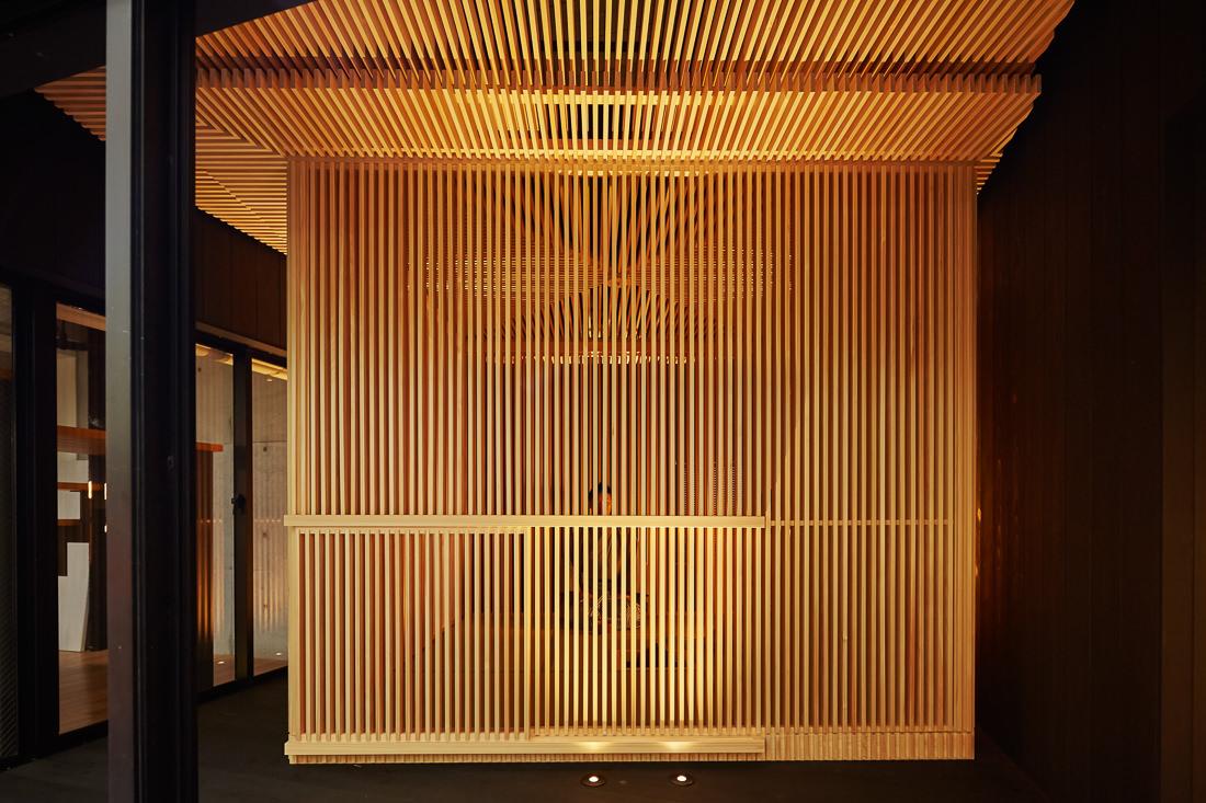 「移動茶室/檜の茶室」が海外進出予定