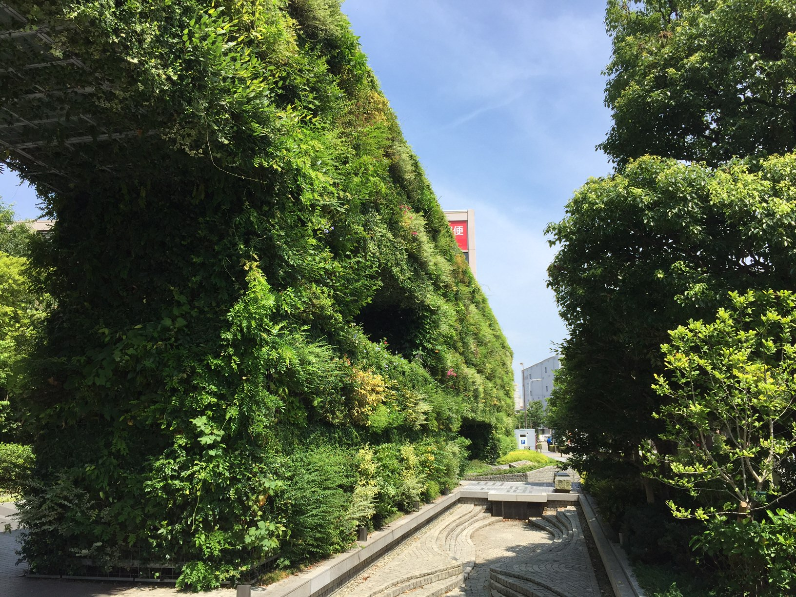 建物探訪 大阪1 希望の壁
