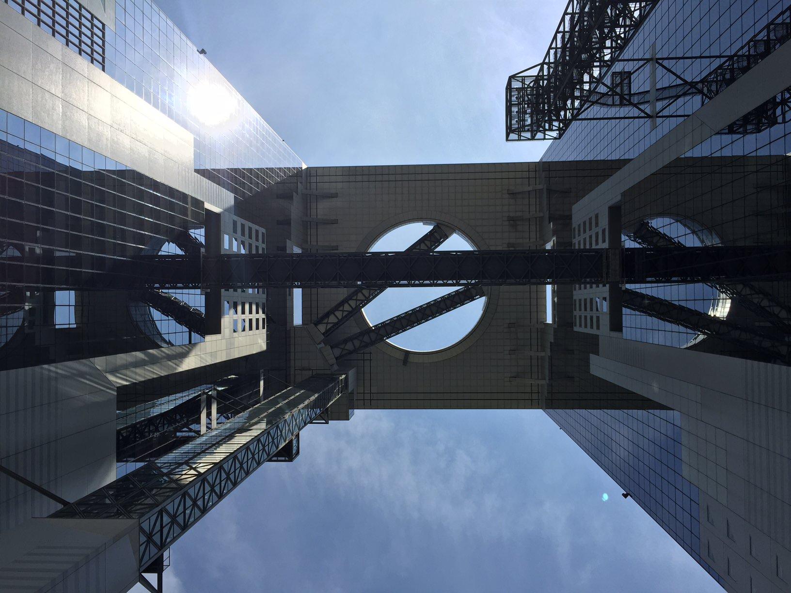 建物探訪 大阪2 梅田スカイビル