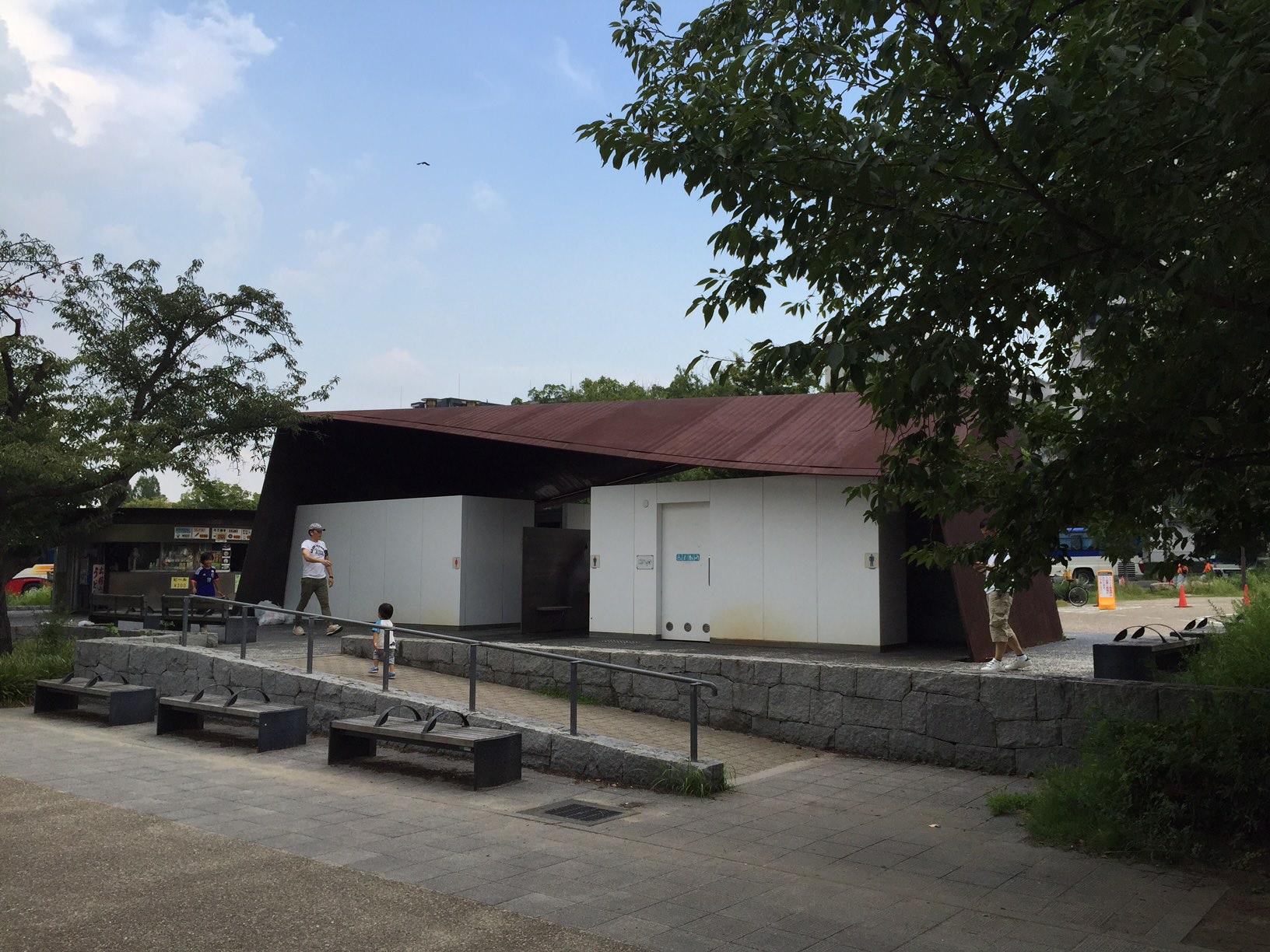 建物探訪 大阪6 大阪城城南 公衆トイレ