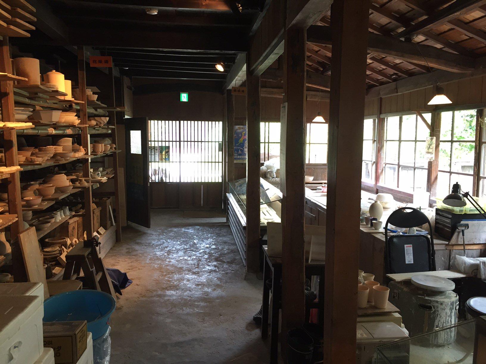 建物探訪 加賀4 九谷焼窯跡展示館