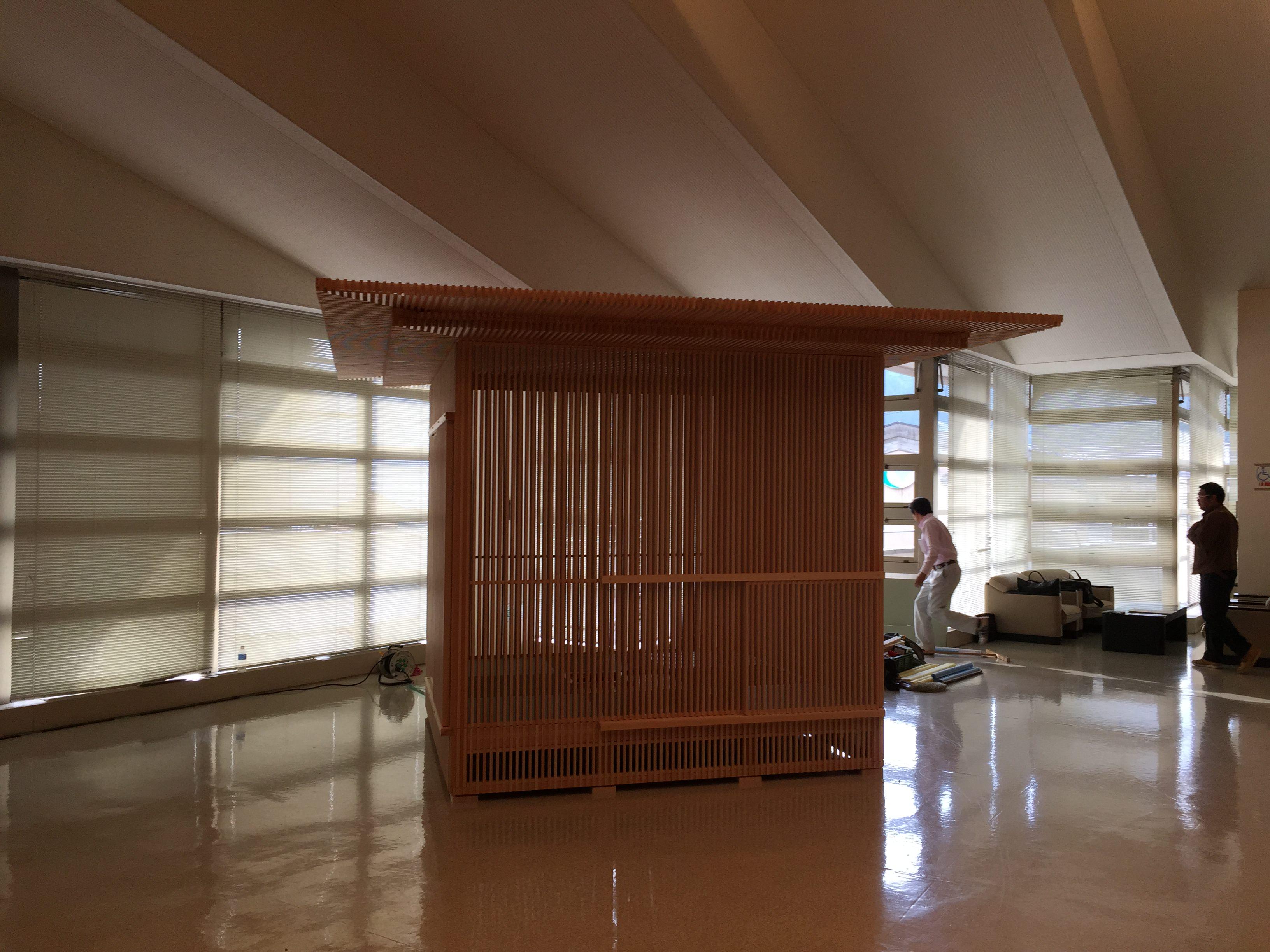 全国育樹祭2015(岐阜県)に移動茶室が展示されます