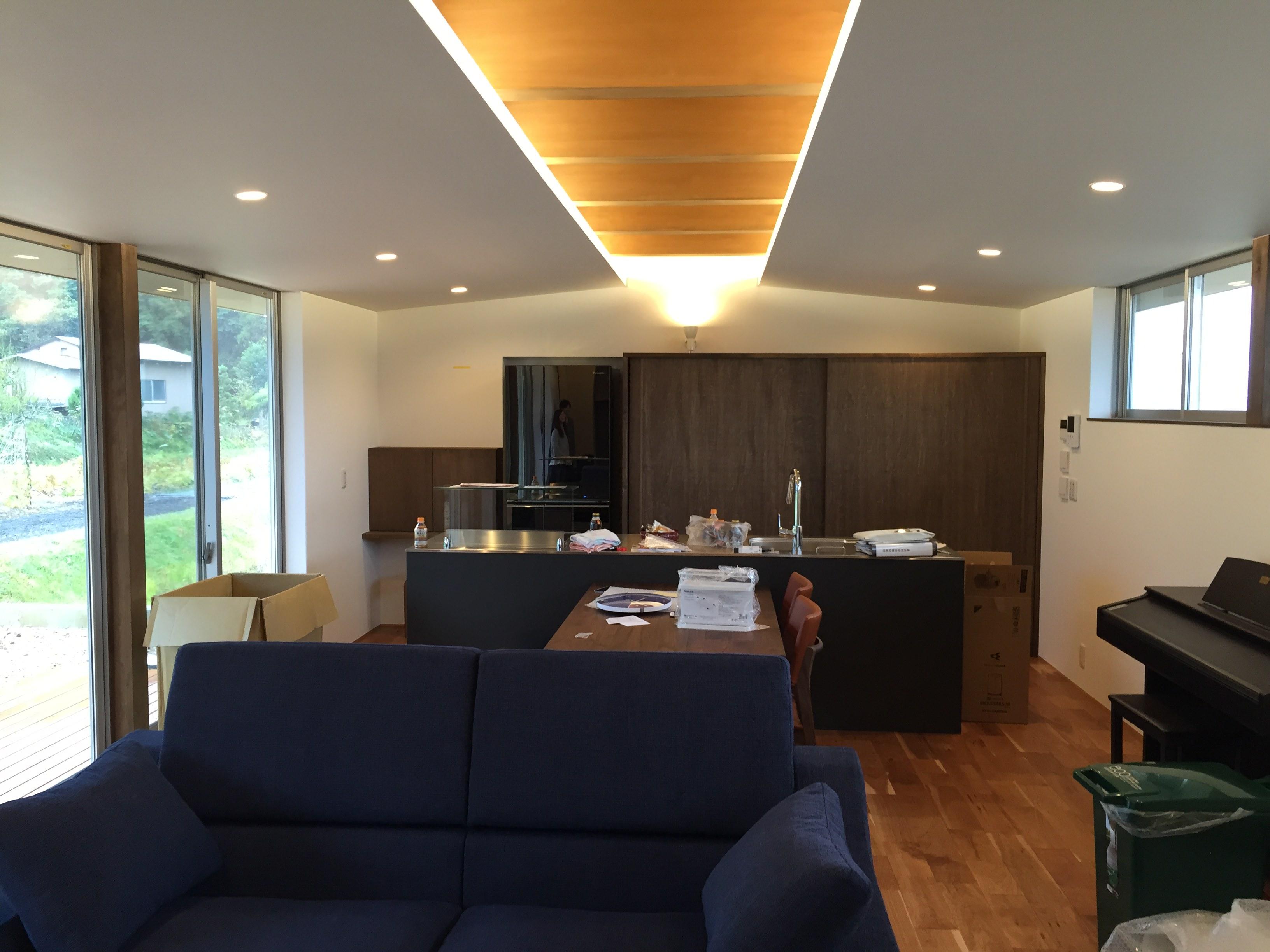 岐阜県山県市「梅原の家」木造2階建て ガレージハウス お引渡し