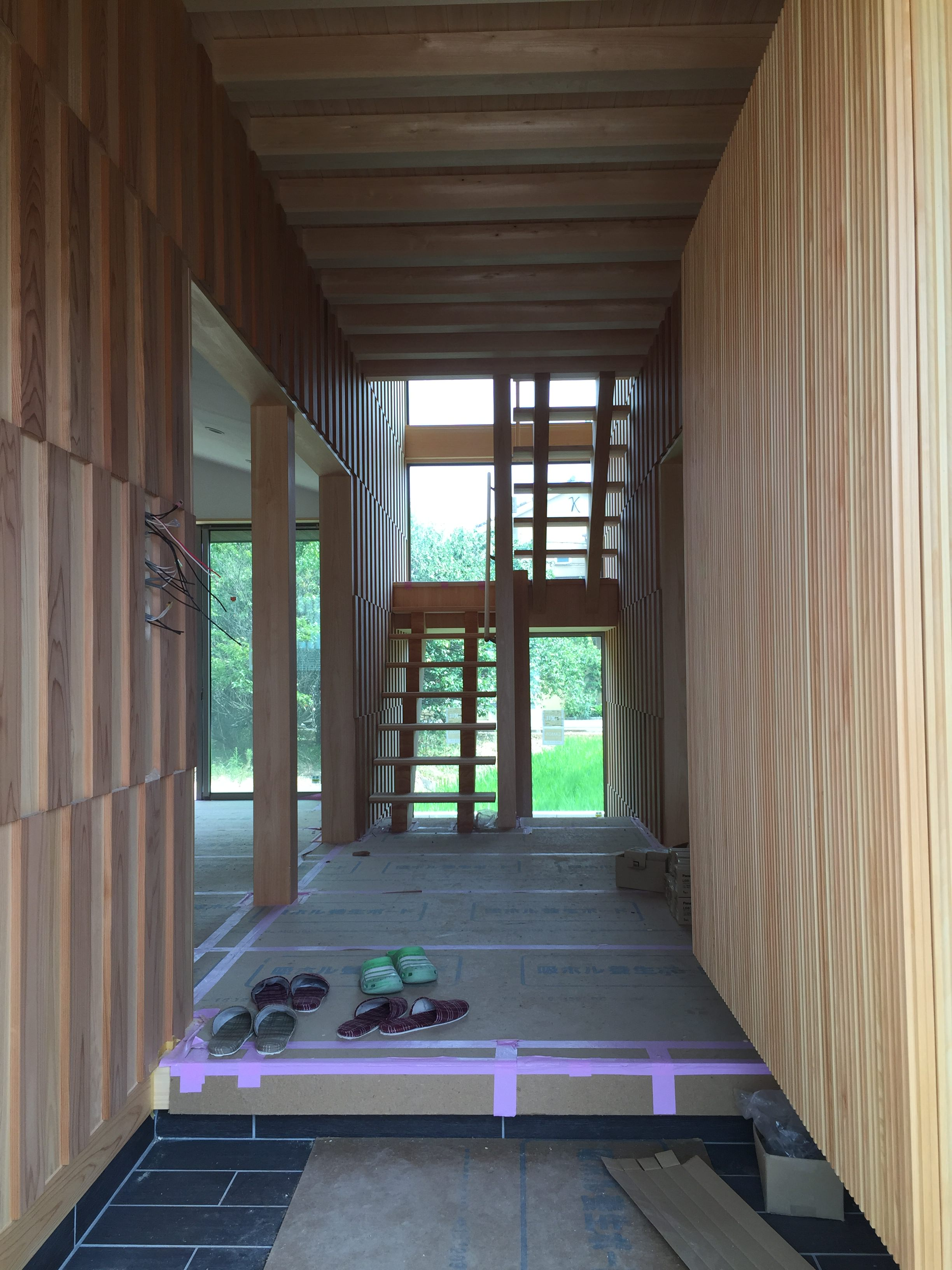 愛知県小牧市「桑原木材㈱モデルハウス」 国産材 木の家 打合せ
