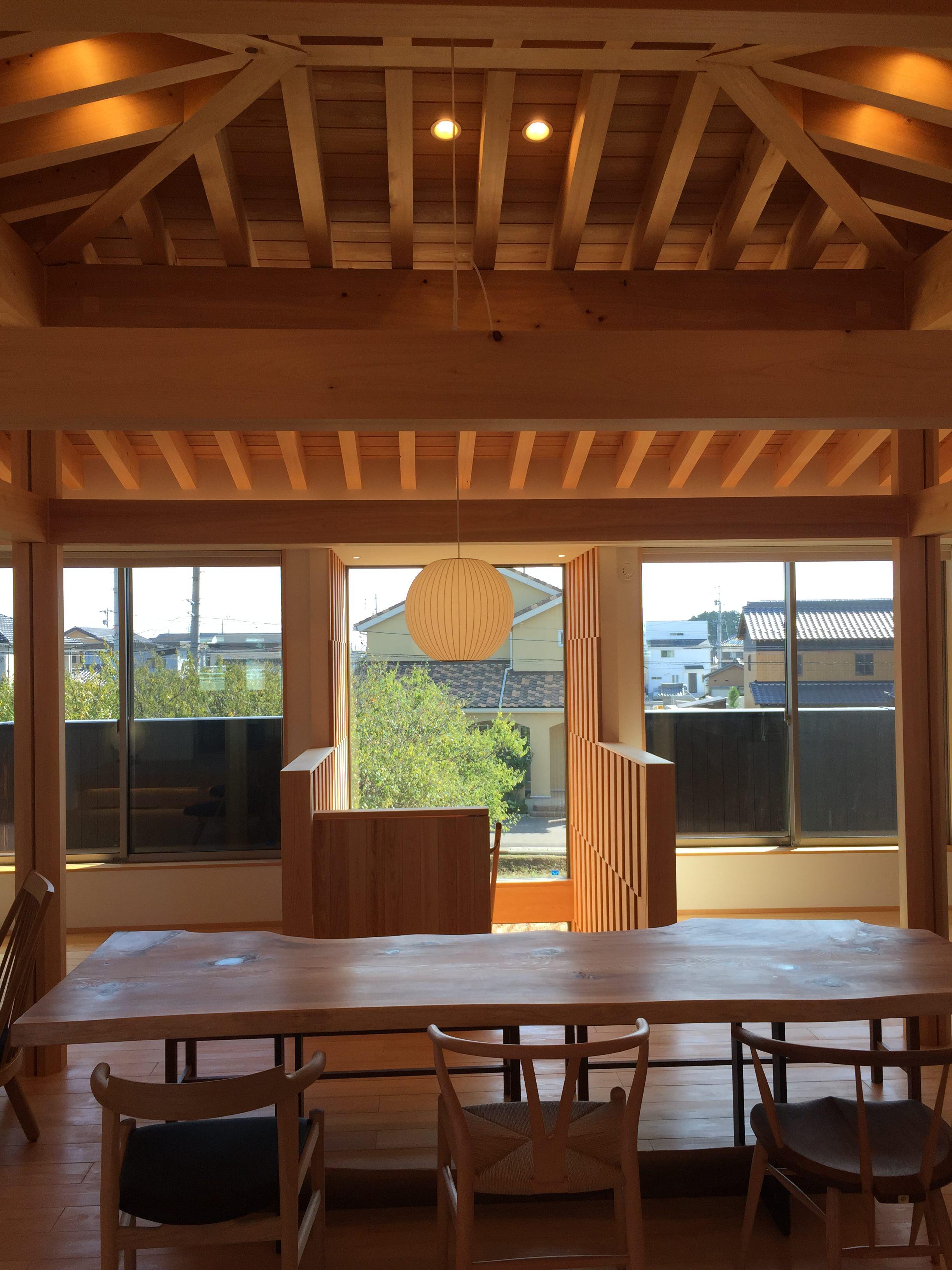 愛知 小牧市「桑原木材㈱モデルハウス」 国産材 木の家 撮影