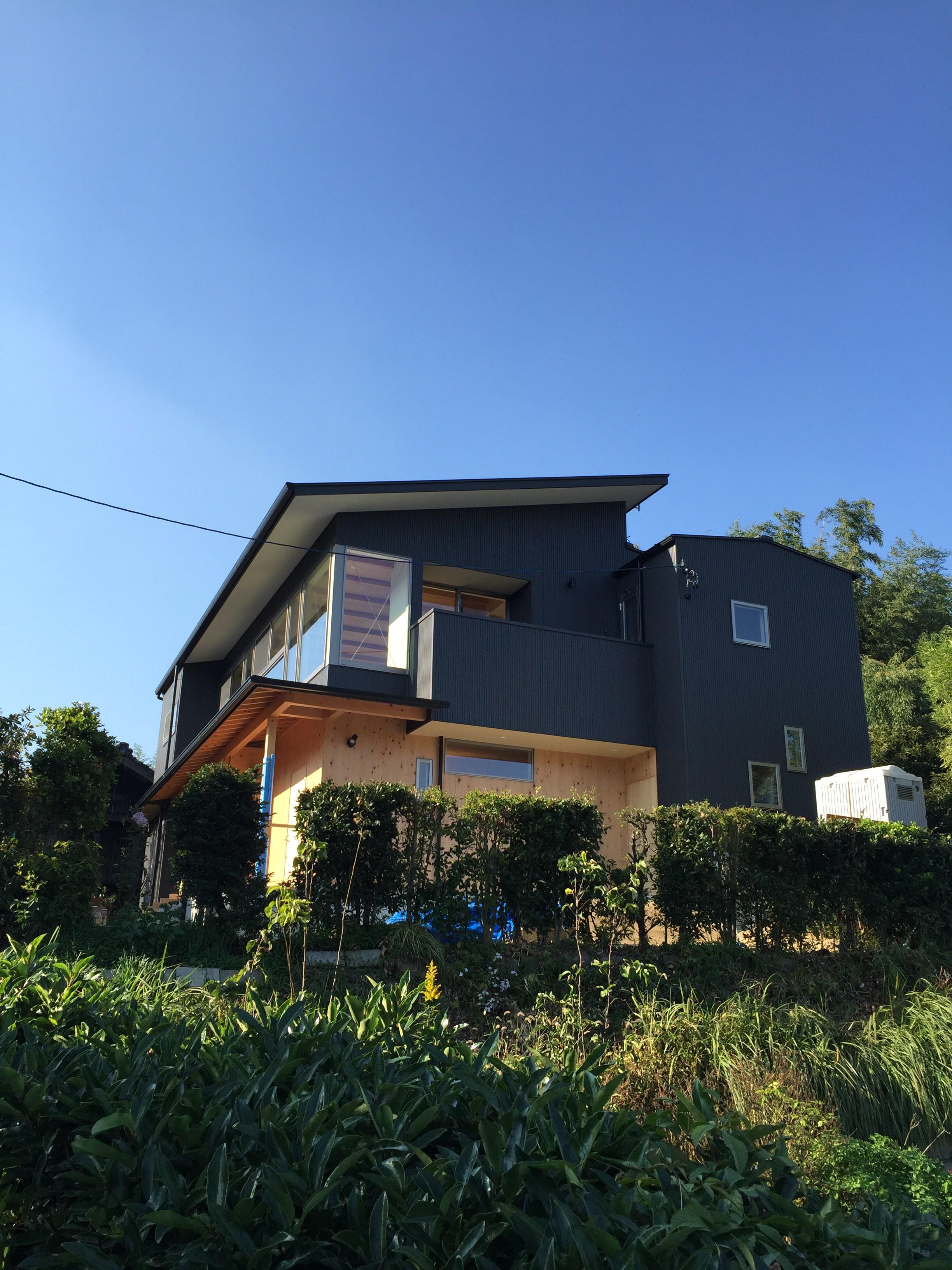 愛知 東海市「大田の家」 木の家 2世帯住宅 現場