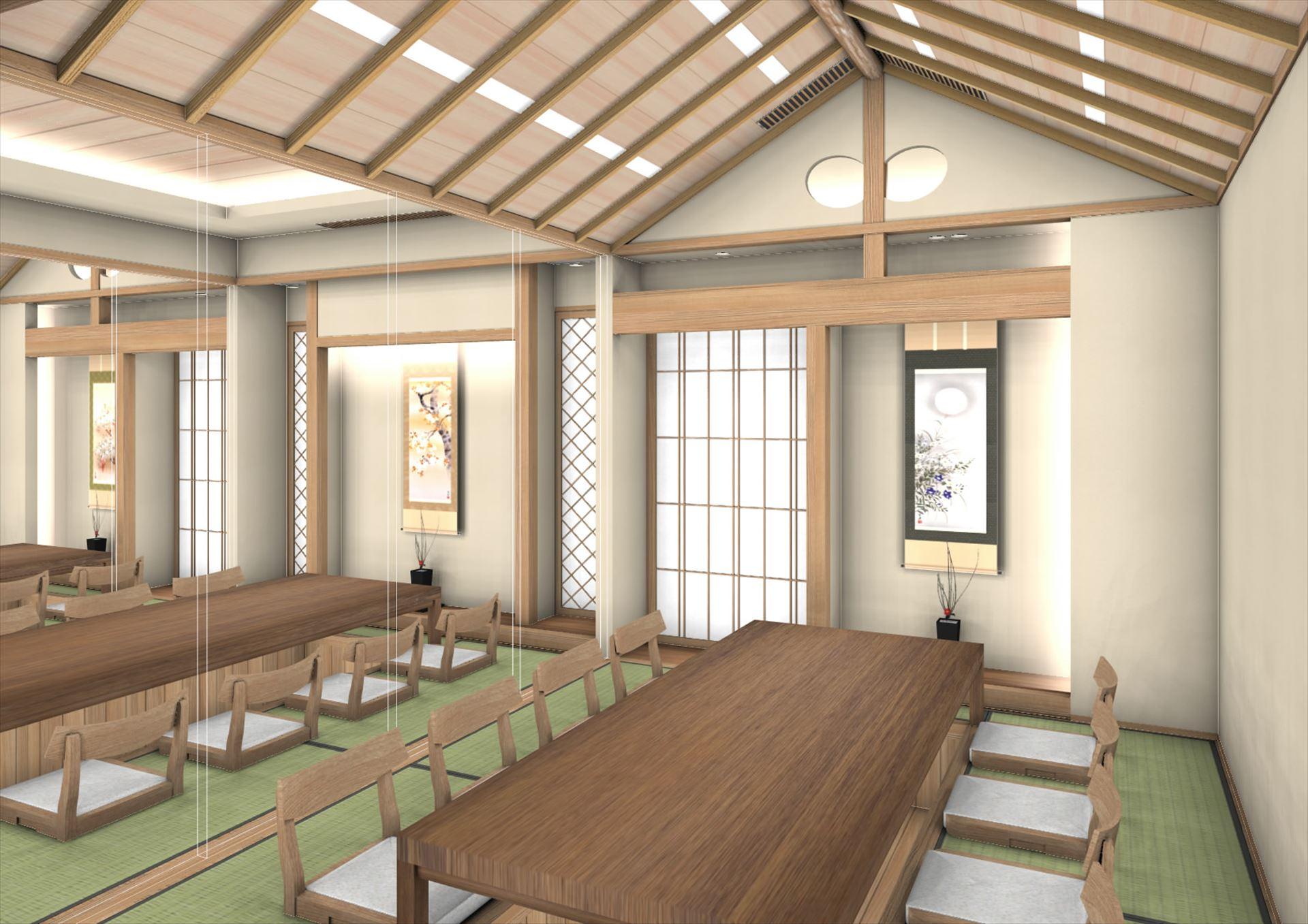 中国張家港 「日本料理店」 店舗 実施終了打合