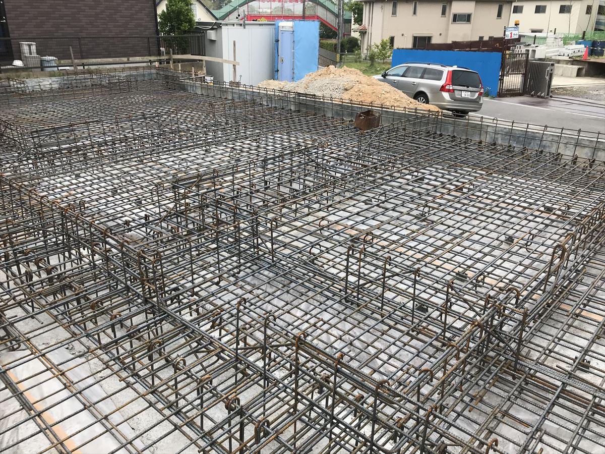 愛知県岡崎市 「上地の家」 木の家 配筋検査