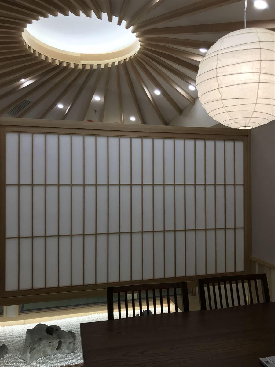中国張家港 日本料理「豊月亭」 竣工写真撮影