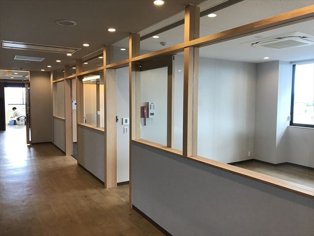 愛知県一宮市 「森整形外科クリニック」工事 現場
