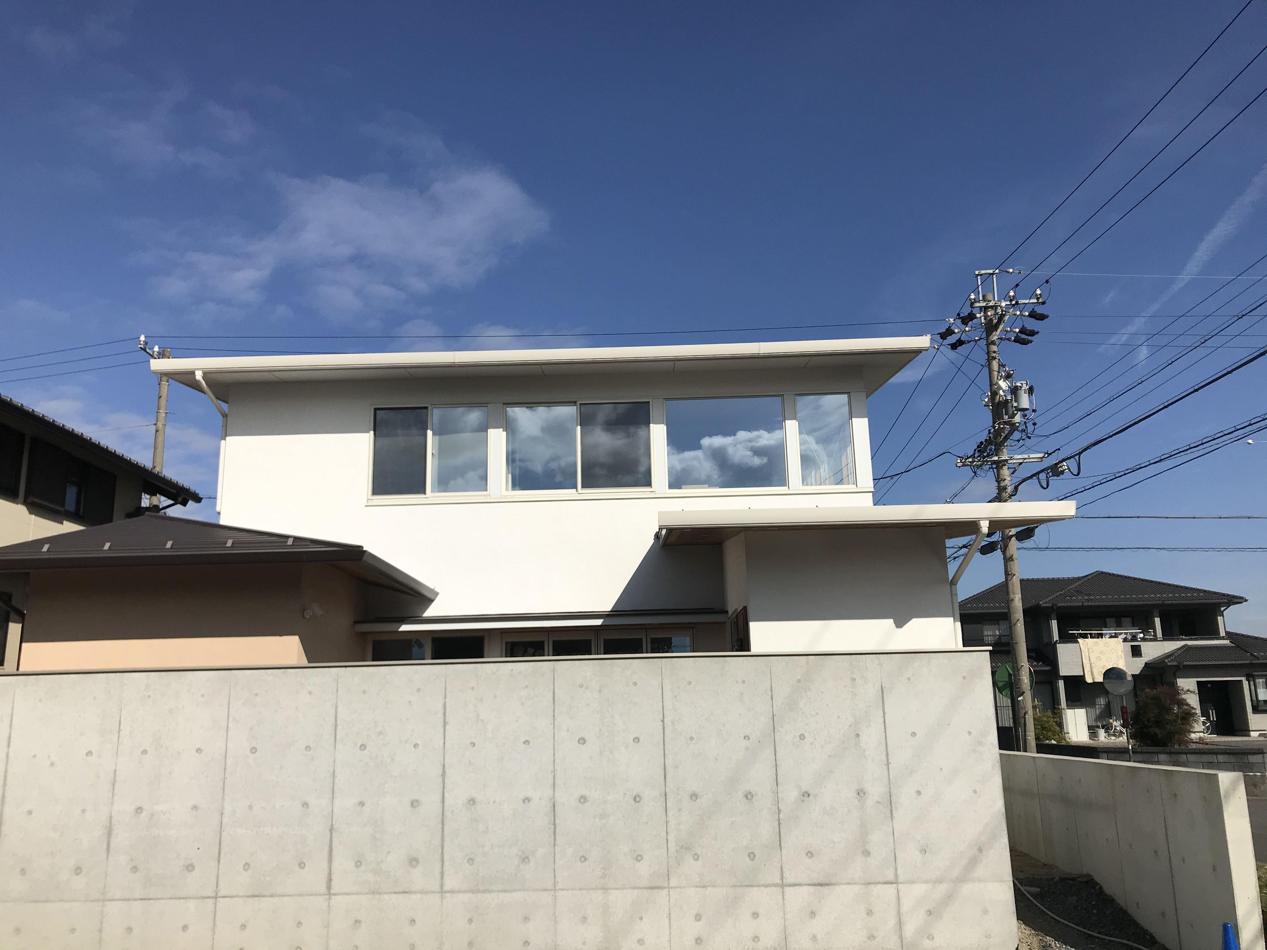 岐阜県養老町 「構の家」 現場