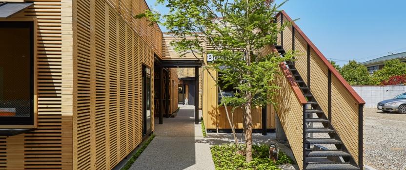 愛知 犬山市 「森のマルシェ 犬山」 が ウッドデザイン賞2016 を受賞しました