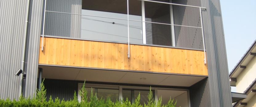 愛知県東海市「荒尾の家」木造住宅 スキップフロアー オープンハウス