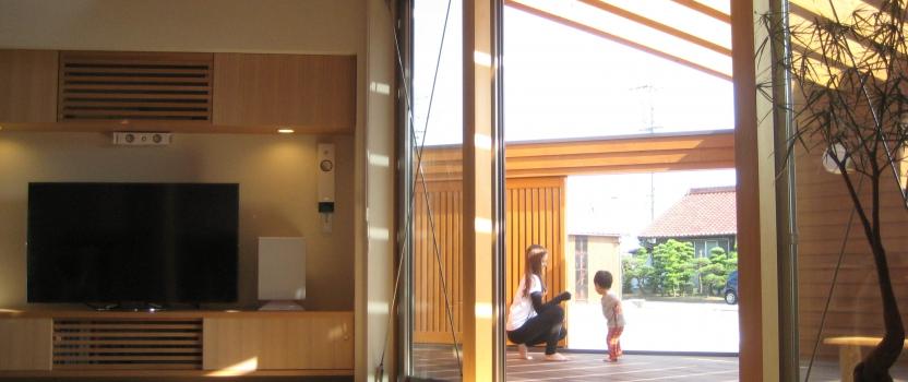 愛知県稲沢市祖父江「開花の家」木造住宅 竣工写真撮影