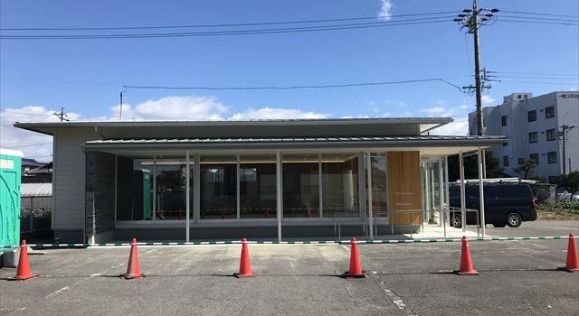 愛知県一宮市 調剤薬局 和モダン「くすりのおうち」新築工事 完了検査