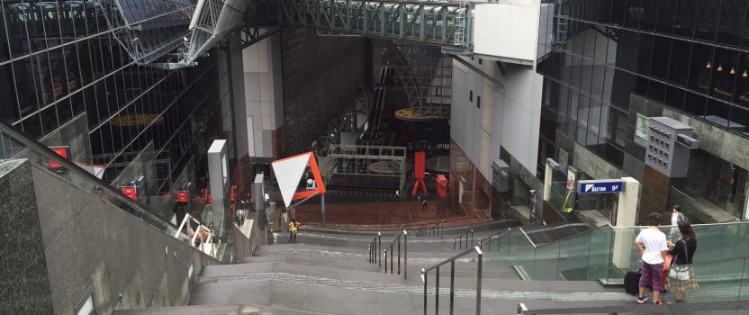 建物探訪 京都駅