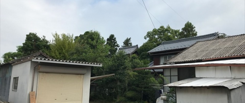 愛知県一宮市 「極楽寺の家」 木の家 解体前お祓い