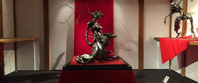 愛知県犬山市「蔵ギャラリー」 ジャンク郎展 開催中