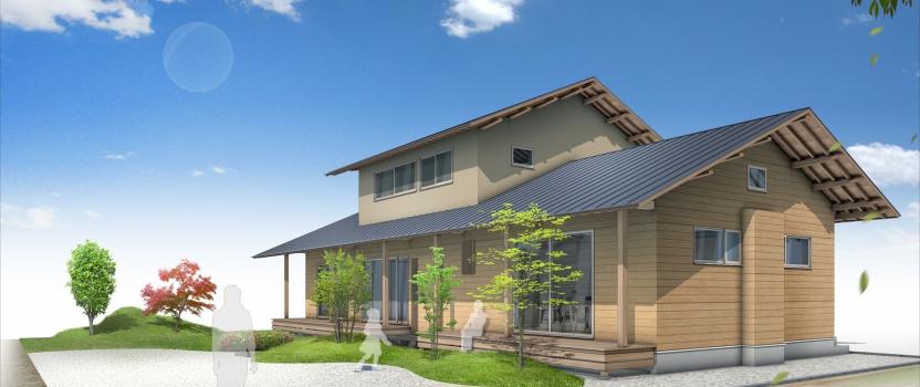 愛知県一宮市 「苅安賀の家」 木の家 現場