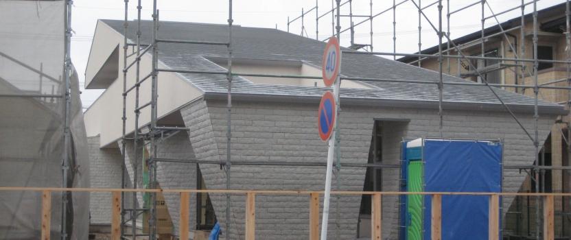 愛知県西尾市「白珪の家」木造+鉄骨造 現場
