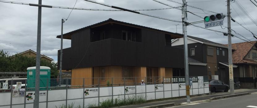 愛知県小牧市「桑原木材㈱モデルハウス」 国産材 木の家 木造現場