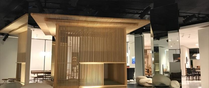 中国上海 「檜の茶室」