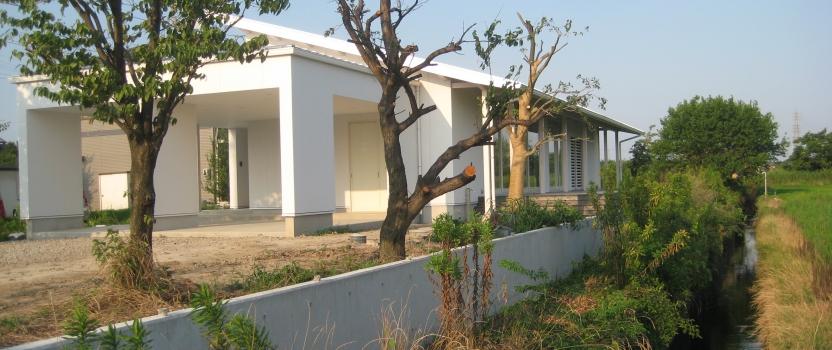 愛知県一宮市 「川原の家」木造住宅 平屋建ガレージハウス オープンハウス