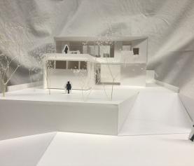 岐阜県美濃加茂市 「蜂屋の家」 木の家 実施設計中