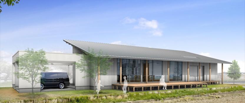 愛知県一宮市東加賀野井「川原の家」木造住宅