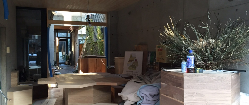 愛知県犬山市「犬山プロジェクト カフェ」リノベーション 現場