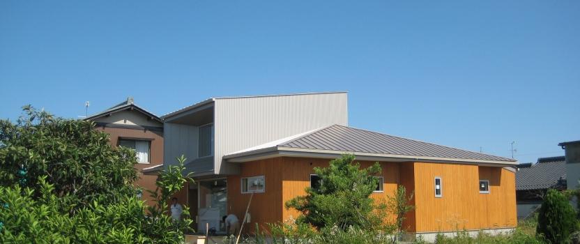 岐阜県羽島市「回光の家」木造住宅 平屋建て オープンハウスご案内