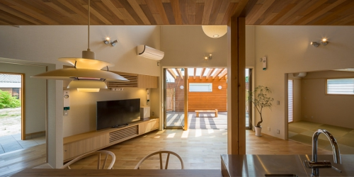 WEB建築サイトhomifyに「開花の家」が掲載されました 記事:心地のいい風を受け止める家