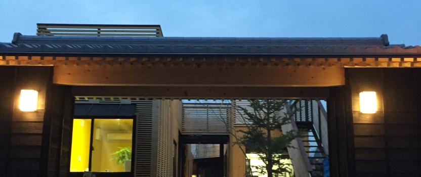 愛知県犬山市「犬山の森マルシェ」商業建築 コンテナ+鉄骨造 現場