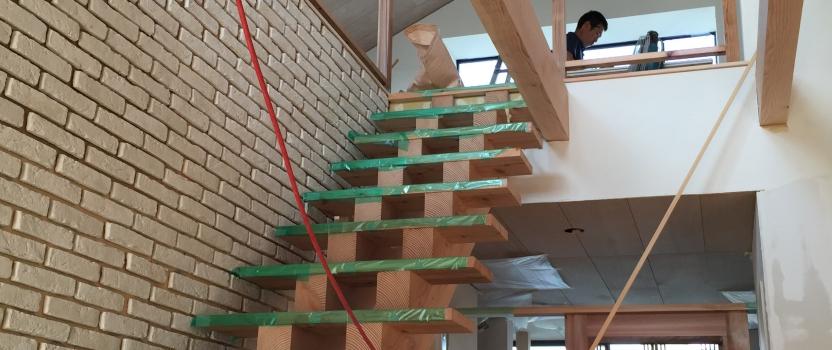 愛知県岡崎市「西魚の家」築46年リノベーション 現場