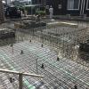 愛知県一宮市 「一宮のコートハウス」 木の家 配筋検査
